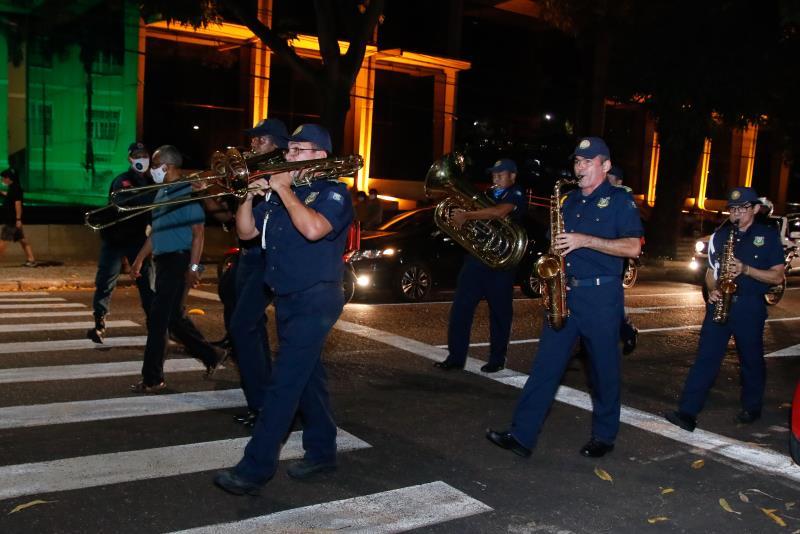 Cortejo da Banda da Guarda Municipal de Belém festejou os 50 anos da Companhia