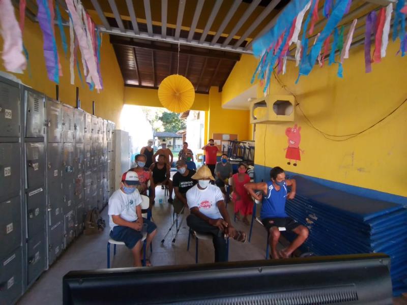 Centro Pop Icoaraci completa seis anos de serviços à população em situação de rua.