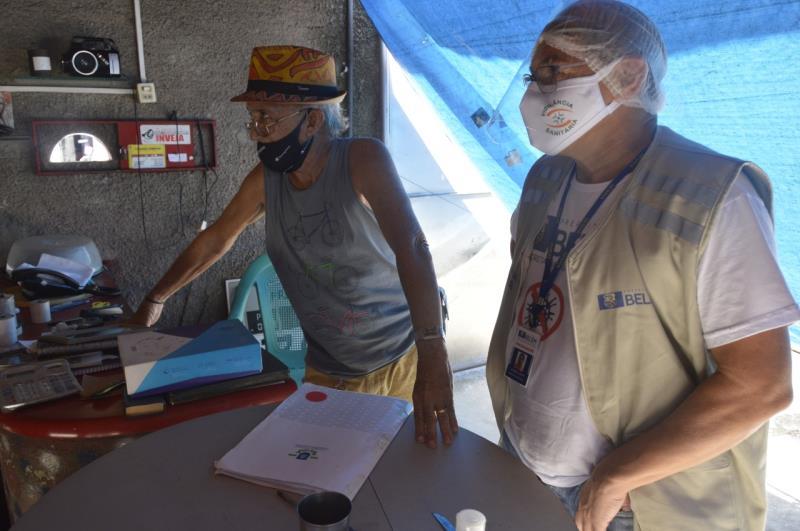 Três estabelecimentos foram notificados nos bairros do Jurunas, Nazaré e Pedreira.