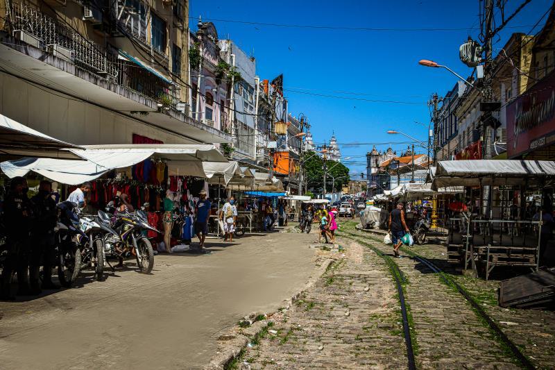 A pesquisa iniciou nesta sexta-feira, 26, como um piloto, na Rua João Alfredo, no centro comercial.