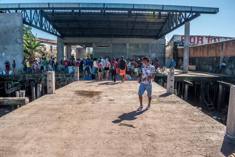 Um novo Porto do Açaí será entregue para a população, em breve.