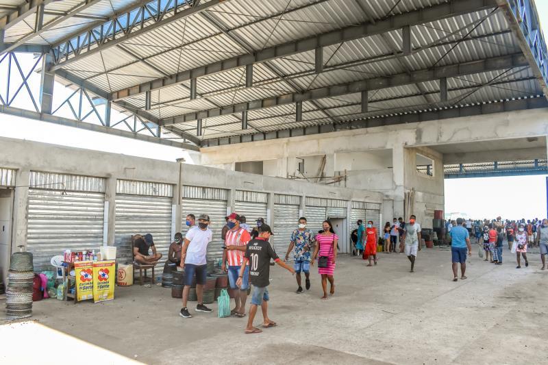 Com quase 95% dos serviços já executados, a obra, realizada pela Prefeitura de Belém, por meio da Secretaria Municipal de Urbanismo (Seurb), segue em fase de acabamentos.
