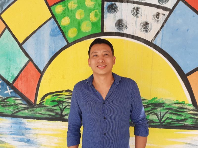 Wander Albuquerque, integrante da Comissão de Matrícula da Semec.