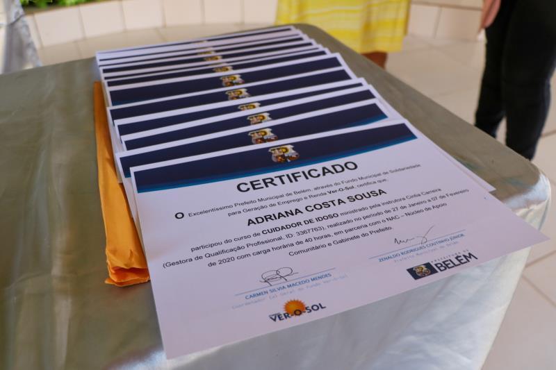 De janeiro a março de 2020, foram 1.360 pessoas qualificadas.