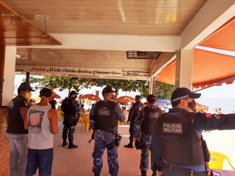 Mais de 42 mil abordagens, orientações e advertências foram realizadas pelos agentes da GMB nos distrito de Mosqueiro, Icoaraci, Outeiro e Ilha de Cotijuba.