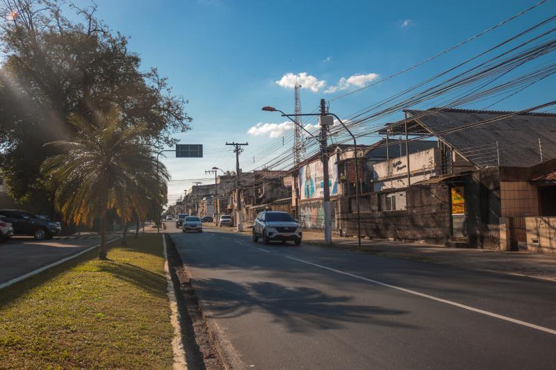 São mais de 2 quilômetros de pavimentação em vias do centro histórico.