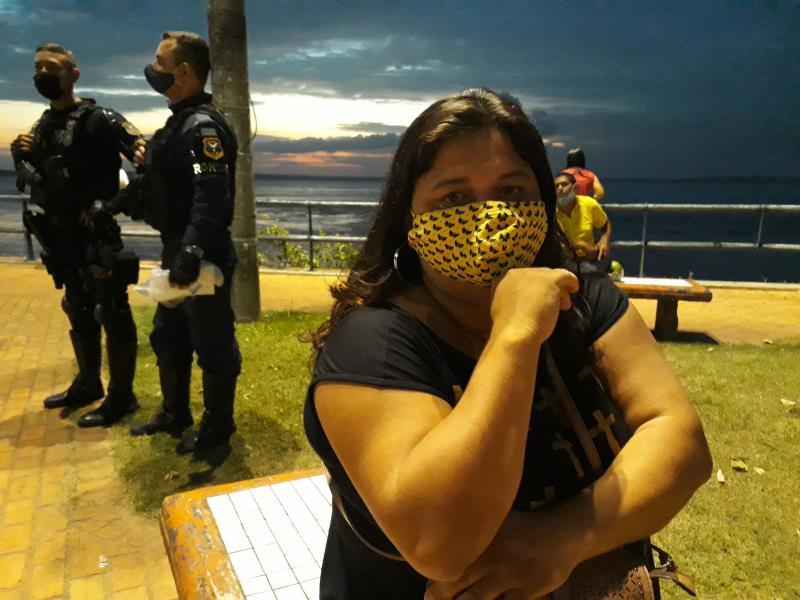 """Marcia Cavalcante não se descuida e pede que todos usem máscara e façam a higiene pessoal antes de entrar em casa: """"Eu perdi vários amigos e vizinhos para a covid-19"""""""