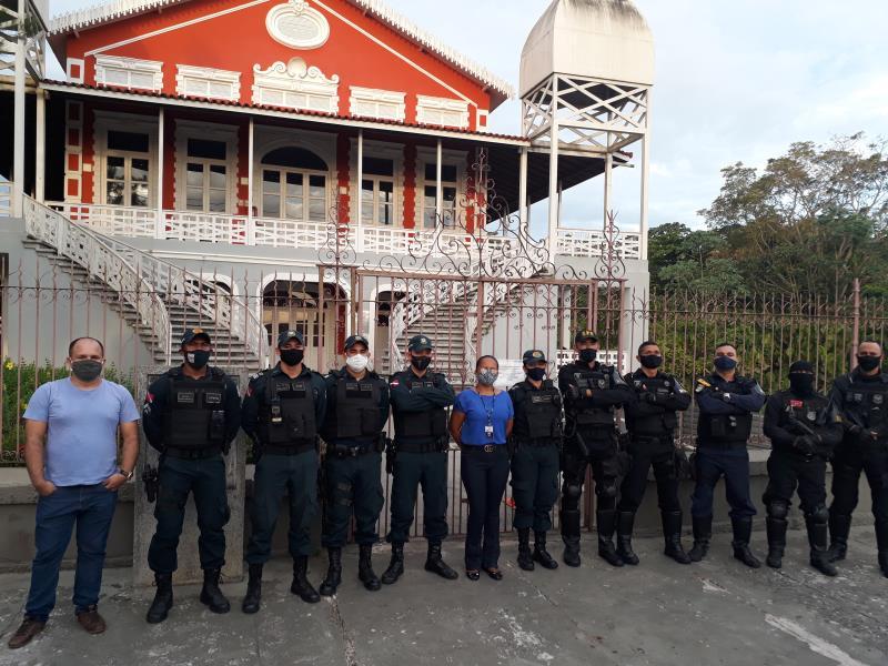 Operação Orla Segura ocorreu nos fins de semana de julho em Icoaraci