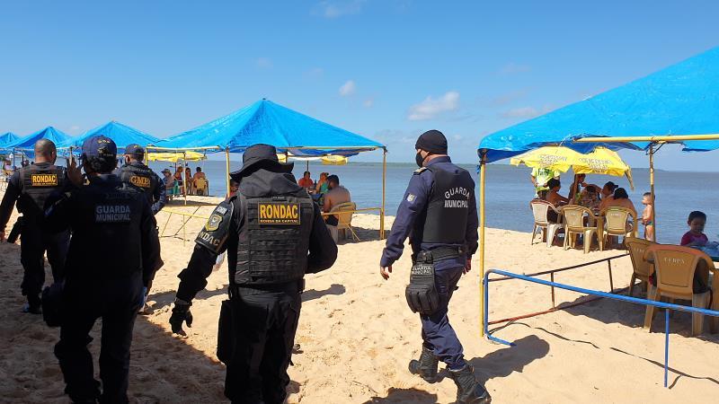 Guarda Municipal de Belém divulga o balanço das ações no mês de julho