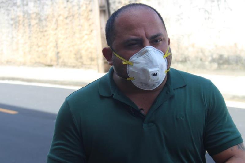 Claudio Mercês, titular da Sesan.
