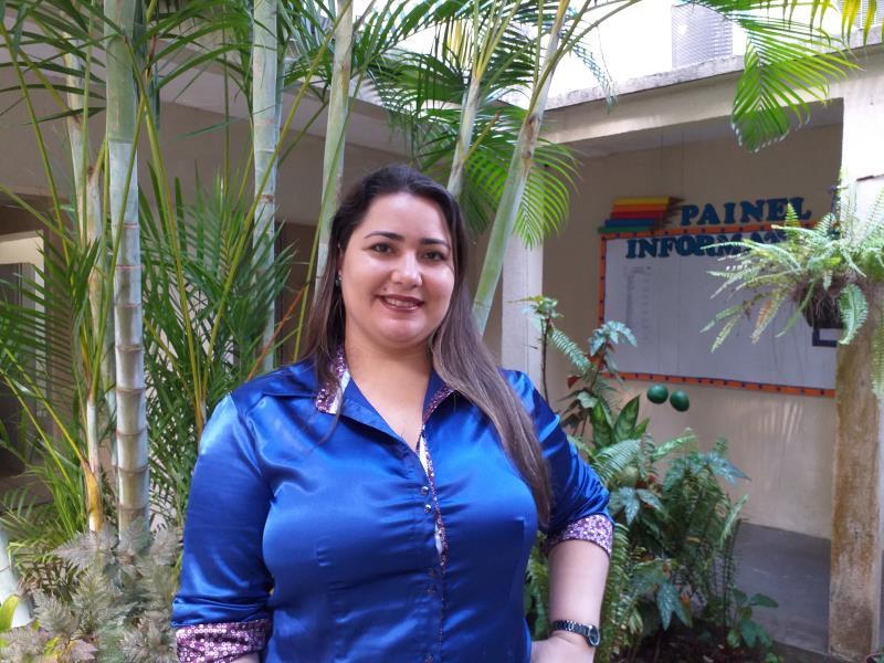 Karina Bordalo, coordenadora e professora formadora do Centro de Formação de Professores