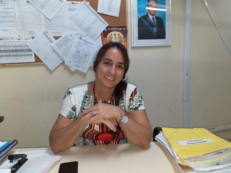Ana Célia Carvalho, diretora educacional da Semec