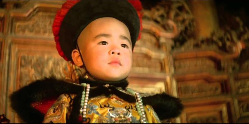 """Um grande épico é """"O Último Imperador"""" está no terceiro lugar da lista"""