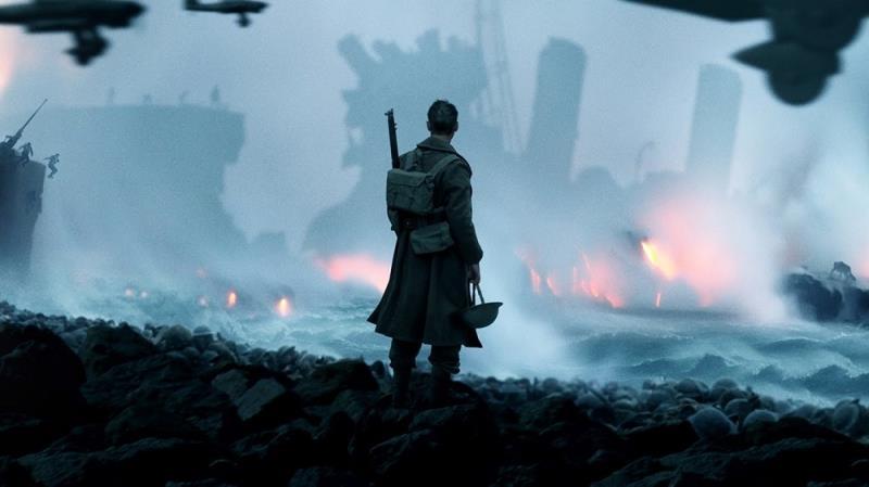 """""""Dunkirk"""" narra um episódio importante da Segunda Guerra Mundial e está na sexta colocação"""