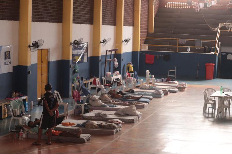 O Ginásio Altino Pimenta encerrou nesta quarta-feira (30) o atendimento humanizado aos acolhidos que apresentaram sintomas leves da covid-19