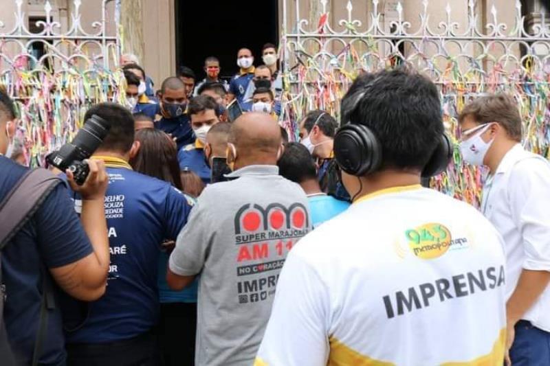 Imprensa impedida de entrar na Basílica de Nazaré