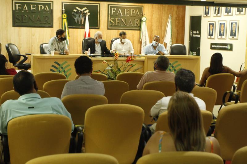 """Seminário """"A Pesca no Municípiol de Belém"""" ocorreu nesta sexta-feira, 23, no auditório da Faepa"""