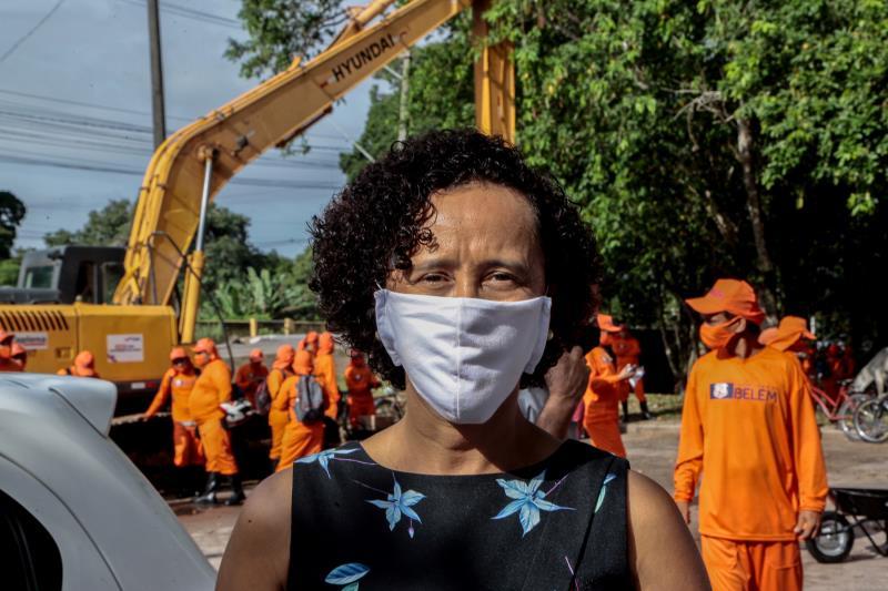 A secretária de Saneamento,Ivanise Gasparim, diz que a meta é limpar toda a cidade.