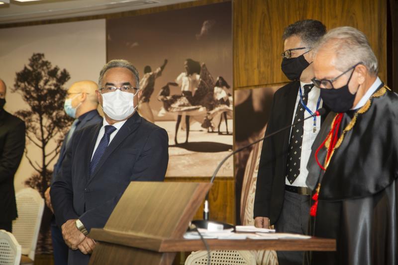 Posse dos dirigentes do tribunal de Contas da União TCM-PA,  Presidenta: Mara Lúcia Barbalho da Cruz Vice: Sérgio Leão