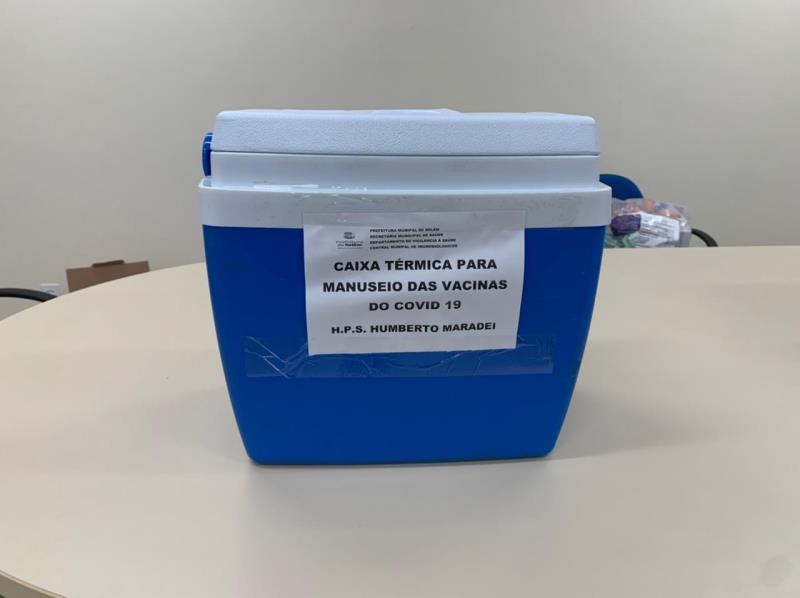 Vacina contra Covid-19 será aplicada em todo os profissionais dos PSMs de Belém