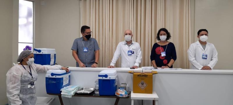Vacinação contra Covid-19 começou nesta quarta-feira (20) em Belém