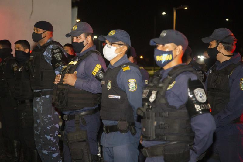 Ação da GMB mobilizou 40 guardas para o trabalho de fiscalização nas praças da capital.