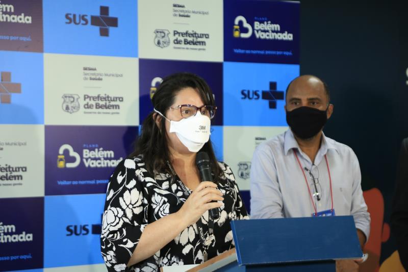 Médica Andréa Ribeiro dos Santos do Laboratório de Genética da UFPA