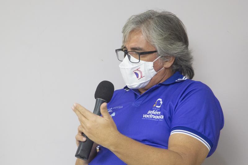 Cláudio Salgado alerta a população para manutenção da medidas sanitárias