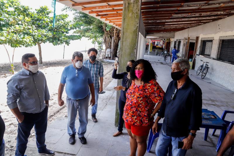 Prefeitura buscou conversar com a comunidade do entorno e entender suas solicitações
