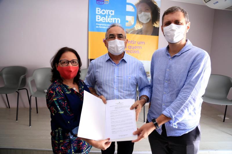Decreto do Bora Belém foi assinado nesta terça-feira, 23