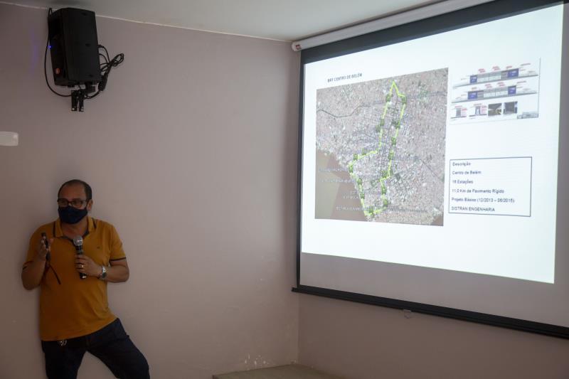 Assessores da Prefeitura falaram sobre as etapas já cumpridas e também as demais previstas para o BRT Belém