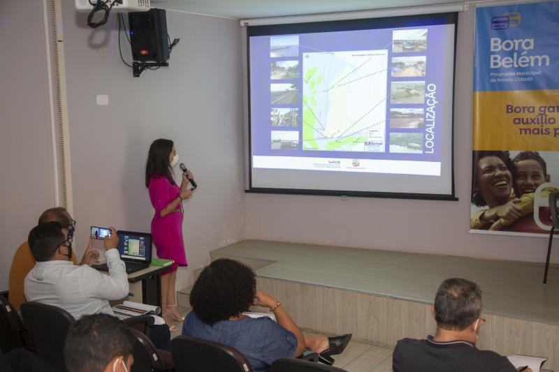 Reunião apresentou a atual fase dos projetos que integram o BRT Belém