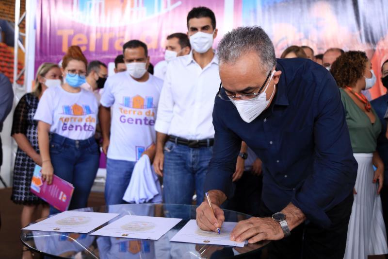 Prefeitura de Belém e governo do estado assinaram protocolo de parceriapara regularização fundiária na capital