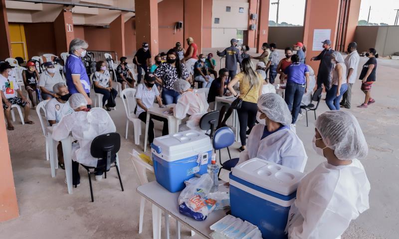 Prefeitura de Belém concluiu mais uma etapa da vacinação contra a Covid-19 na quinta-feira.