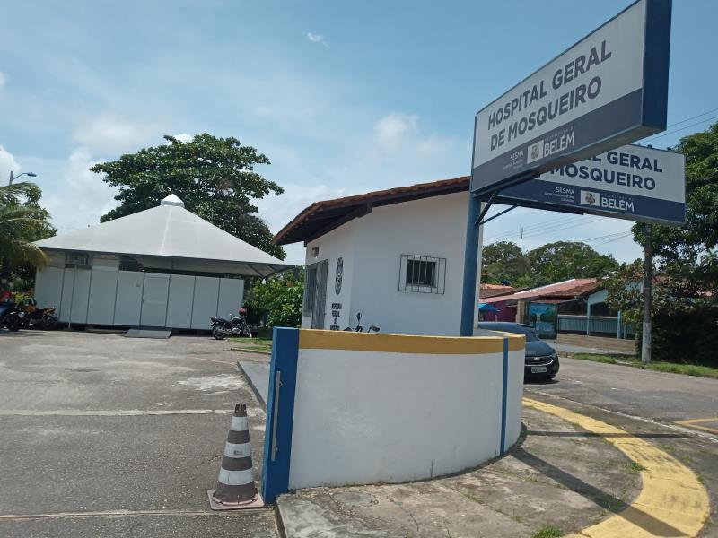 Policlínica anexa ao HGM com Estrutura para triagem dos casos suspeitos de Covid