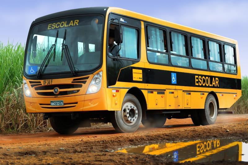 Ônibus escolar será entregue pelo deputado federal Eduardo Costa (PTB-PA) para atender área rural de Paragominas