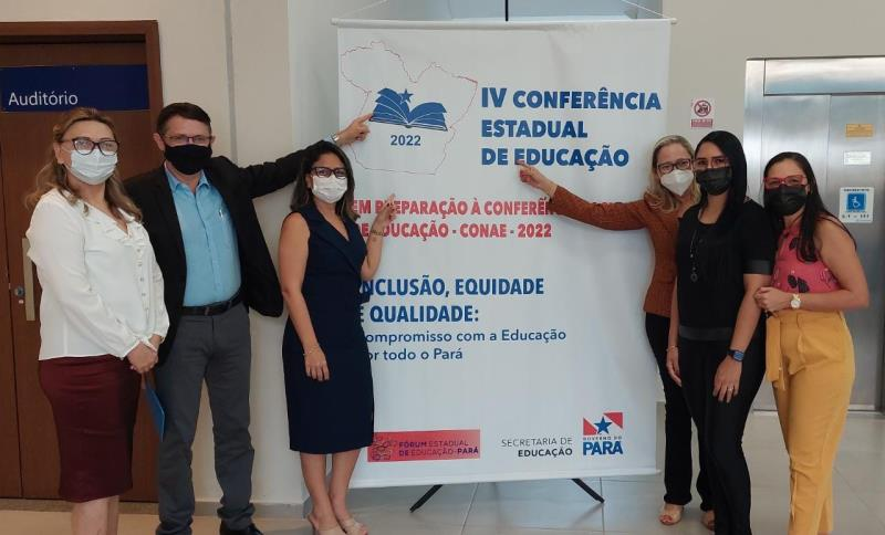 IV Conferência Estadual de Educação com Paragominas representada pela secretária Andréia Sampaio