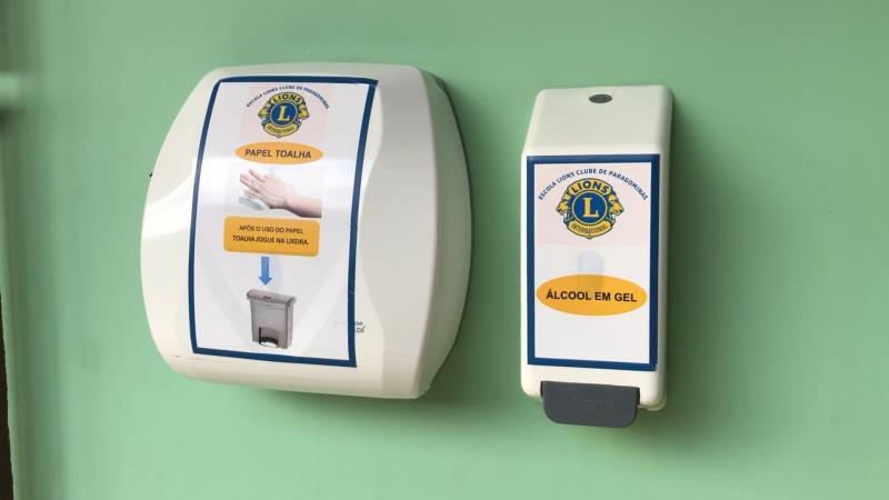 Álcool em gel é obrigatório nas escolas da rede municipal de ensino em Paragominas
