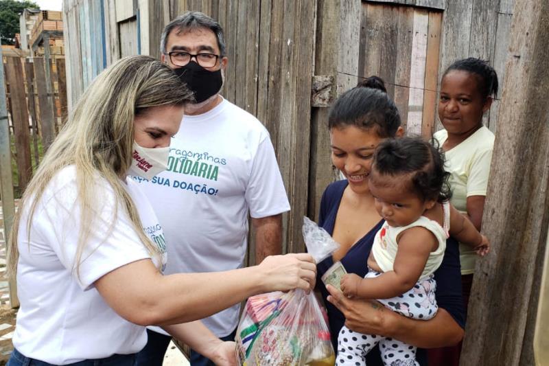 O Programa Paragominas Solidária começou com força máxima.