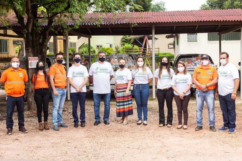 A ação conta com a colaboração de vários parceiros e da sociedade civil em geral.