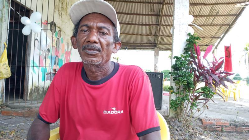 Miguel Ricardo Filho está no Assentamento desde o início da ocupação há 22 anos.