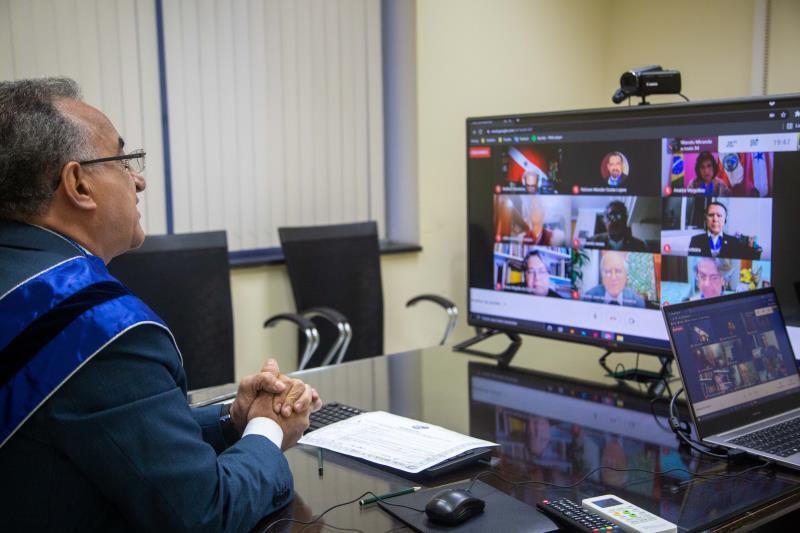Na condição de prefeito de Belém, Edmilsom reafirmou apoio ao fortalecimento do IHGP.
