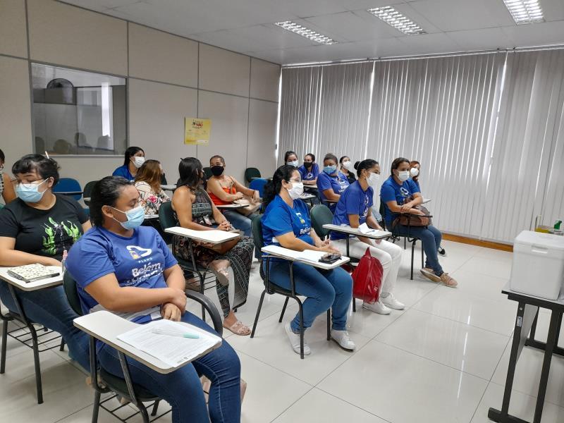 Oitenta profissionais da Sesma participaram do curso, que durou o dia todo