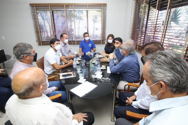 Reunião com o prefeito de Barcarena, Renato Ogawa.