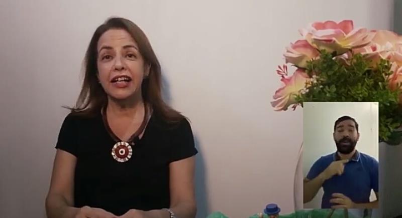 A importância do brincar foi o tema da professora Celita Paes, da UFPA