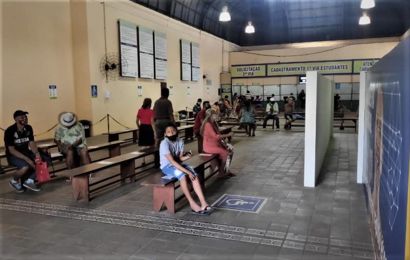 OPosto do Mercado de São Brás daSeMOB já atendeu, até agora, 1.548 alunos, mediante agendamento