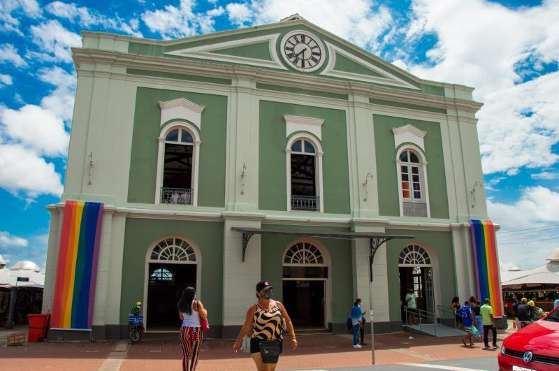 A ação ocorreuno Solar da Beira, no Complexo do Ver-o-peso