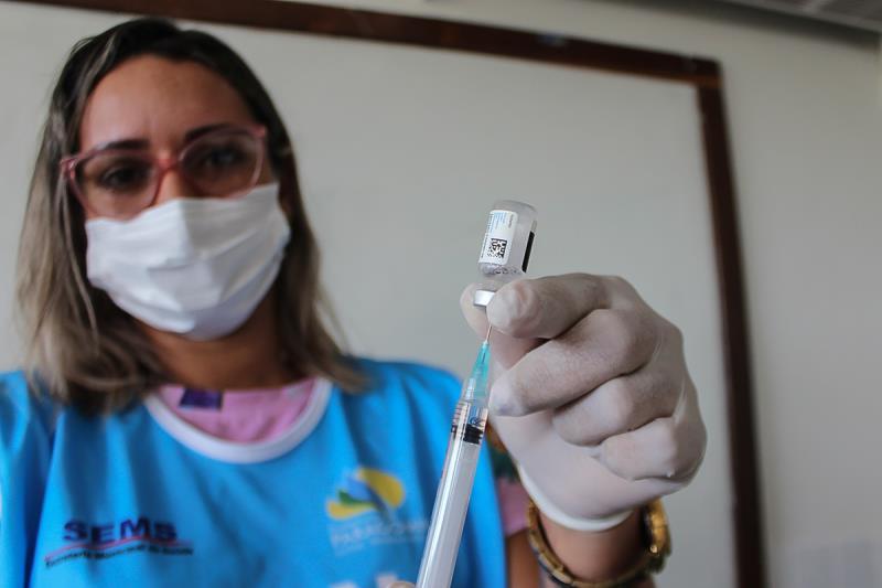 Em Paragominas, vacinação para 18 anos ou mais começa dia 02 de agosto, com atendimento especial até o dia 05, no Teatro Reinaldo Castanheira