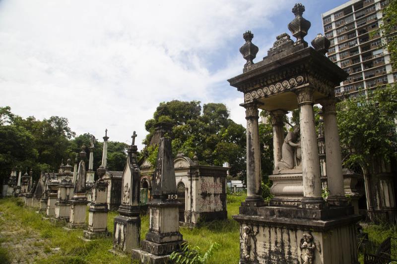 Tombado em 1964, cemitério da Soledade passará por um processo de requalificação