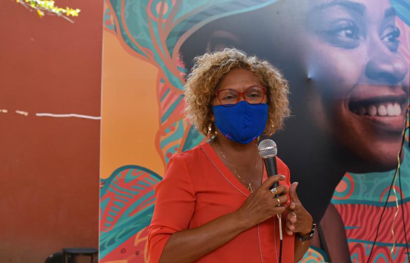 Leila Palheta - Fundadora do Viver Periferia, sugere que debate seja estendido às periferias da capital